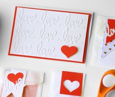 Valentine's Day is a time to show how much you love someone. Add a personal touch with these Homemade DIY Valentine's Day card and gift bag ideas!