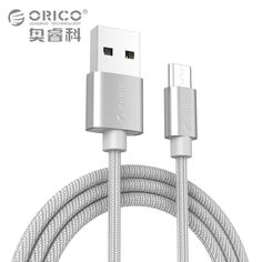 ORICO Nylon USB-A to Micro USB Cable for Xiaomi Huawei SamSung Meizu Letv USB Date Sync Charging Cable 1 Meter //Price: $3.87//     #shopping