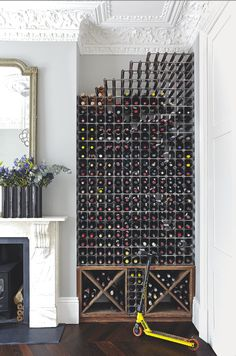 Now that's what we call a wine rack!