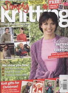 Ravelry: Simply Knitting 21, November 2006