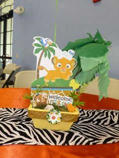 """Photo 1 of 38: Baby Lion King / Baby Shower/Sip & See """"Baby Lion King""""   Catch My Party"""