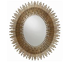 Brilliant detail and a regal design make the Arteriors Home Prescott Round Wall Mirror a showpiece addition to any room in your home. Black Wall Mirror, Wall Mirrors Set, Rustic Wall Mirrors, Mirror Ideas, Mirror Mirror, Modern Mirrors, Modern Wall, Mirror Collage, Modern Contemporary