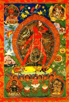 There have been fine preliminary studies of the dakini, tracing her development from her gruesome and obscene origins to more her gentle aspects as symbols of transcendent wisdom. Description from beliefnet.com. I searched for this on bing.com/images