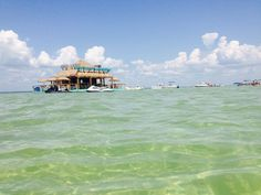 Waterworld restaurant at Crab Island in Destin, Florida