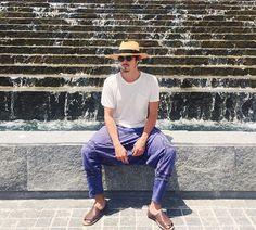 tylerblackburn❤️ Tyler Blackburn, Abc Family, Pretty Little Liars, American Actors, Panama Hat, Singer, Rivers, Instagram, Kit