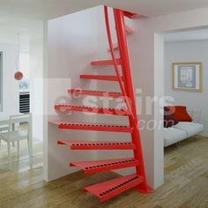 spiral stair efficient - Google Search