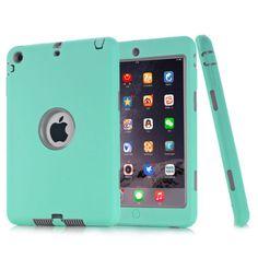Shockproof Heavy Duty Rubber Hard Case Cover For Apple iPad Mini 1/2/3 CASE Robo