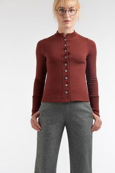 Mette Møller designs simple, feminine clothes for the practical and beautiful woman of today. Simple Designs, Beautiful Women, Feminine, Winter, Sweaters, Clothes, Style, Fashion, Simple Drawings