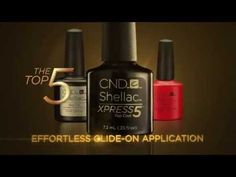 CND Shellac Xpress5 Top Coat Review 2015