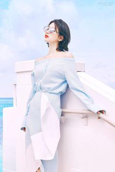Photo )) Suzy for Summer Collection of CARIN Sunglasses Bae Suzy, Asian Woman, Asian Girl, Miss A Suzy, Girl's Generation, Korean Celebrities, Korean Actresses, Korean Model, Ulzzang Girl