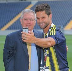 Aziz Yıldırım & Diego Ribas #Selfie