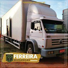 Contrate uma empresa seria e responsável, A FERREIRA MUDANÇAS possui caminhão de mudanças em Goiânia, frota própria de veículos. Trucks, Vehicles, Truck, Car, Vehicle, Tools
