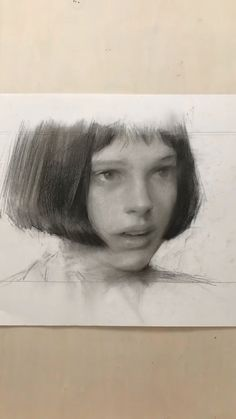 Graphite Art, Graphite Drawings, Art Drawings, Contour Drawings, Drawing Faces, Portrait Sketches, Pencil Portrait, Portrait Art, Charcoal Portraits