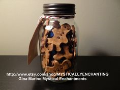 Quart Mason Jar filled with home made by MYSTICALLYENCHANTING, $26.50