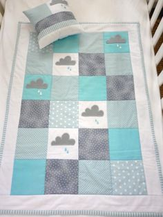 boy quilt...I should make this...for someone with a baby boy