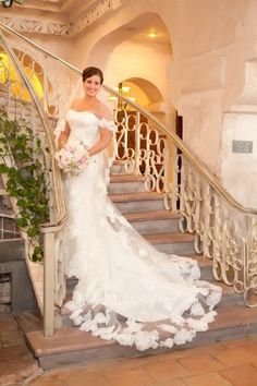 Wedding dress by Maggie Sottero via Signature Bridal Salon - Hill Country Wedding at Villa Antonia from Amy Weison Photography Wedding Poses, Wedding Dresses, Wedding Ideas, Bridal Pictures, Bridal Salon, Every Girl, One Shoulder Wedding Dress, Villa, Wedding Photography