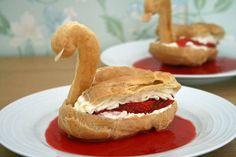 make meringue swans - Google Search