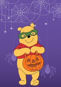 Pooh Corner Your source for all things Winnie the Pooh since Submit Ask Archive Winnie The Pooh Halloween, Disney Halloween, Baby Halloween, Halloween Themes, Halloween Rocks, Halloween Designs, Winne The Pooh, Winnie The Pooh Friends, Disney Winnie The Pooh