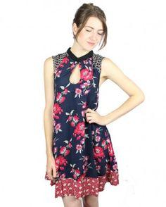 Tigerlily Curio Floral Mini Dress