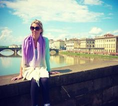 Emma in Florence #ColourtheWorld