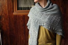 Beautiful #knitting Shawl !