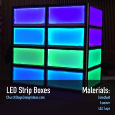 LED Strip Boxes