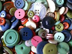 Craft Ideas With Buttons
