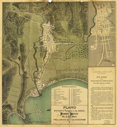 Mayaguez, Puerto Rico, Map, 1888