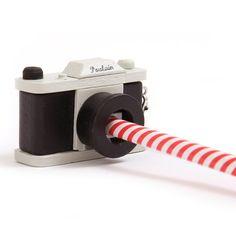 Camera pencil sharpener Pencil Sharpener, Fimo Clay, Office Art, School Organization, Clay Crafts, School Supplies, Cameras, Stationery, Kawaii