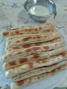 Pizza Recipes, Bread Recipes, Bread And Pastries, Bread Rolls, Savoury Dishes, No Bake Cake, Finger Foods, Ham, Food And Drink