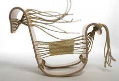 Rocking horse Activity Toys, Equine Art, Toddler Activities, Pet Birds, Sculpting, Bamboo, Pottery, Rocking Horses, Design