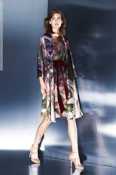 Escada (Fall-Winter 2014) R-T-W collection at New York Fashion Week #Bree_Smith, #Marikka_Juhler #fashion #style #beauty #Models #cute #stylish #beautiful #dress