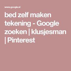 bed zelf maken tekening - Google zoeken | klusjesman | Pinterest