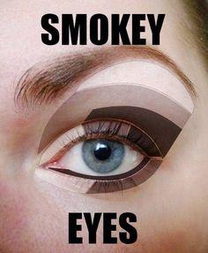 Eyes (макияж) – 78 фотографий