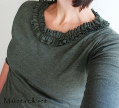 Make your own knit shirt