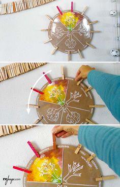 cómo trabajar las estaciones del año con el ciclo de estaciones inspiración Montessori Waldorf