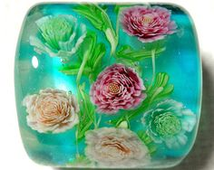 i covet the patience to make glass beads like this