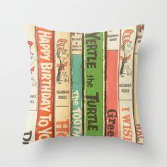 Seuss Love throw pillow cover, $20