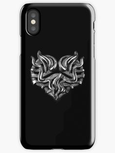 ' iPhone Case by NocturnDesign Buy Metal, Fire Heart, Laptop Skin, Iphone Case Covers, Ipad Case, Protective Cases, Decorative Throw Pillows, Gothic Rock, Dark