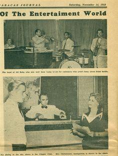 Wolfgang Kluge, Clipper Club Caracas, ca. 1955.