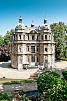 Monte Cristo Castle - Alexandre Dumas' Estate in Marly le Roi, France. Author of The Three Musketeers.