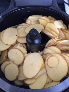 T-Fal Actifry Potato Chips - Potato Recipes Tefal Actifry, Gourmet Recipes, Cooking Recipes, Healthy Recipes, T Fal Air Fryer, Oreo, Air Fryer Recipes Vegetables, Air Frier Recipes, Potato Chips