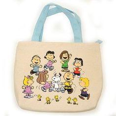 """Peanuts Canvas """"Peanuts Speaks"""" Lunch Bag,KAA24784611"""
