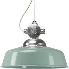 Op zoek naar een nieuwe lamp? Deze hippe groene #retro #hanglamp is het helemaal! #praxis