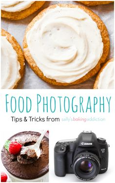 Comprehensive review of food photography, lighting, composition, and equipment, with tools, tips, and tricks to help improve food photography.