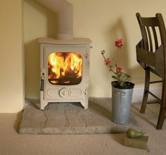 Charnwood Country 4 Pewter Woodburning Stove