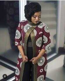 Latest Ankara Kimono Styles 2018 : The Most Recent African Dresses