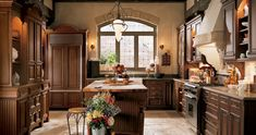 Traditional English Kitchen design by Wood-Mode - Small