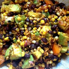Just a Dash...: of Southwestern Grilled Corn Salad