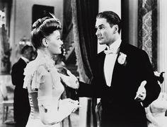 Errol Flynn & Alexis Smith (Gentleman Jim 1942) Raoul Walsh. Photo Warner Bros. Pictures.